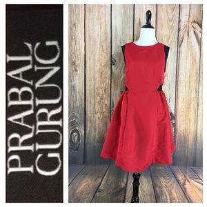 💸Parbal Gurung for Target black/red dress size 12